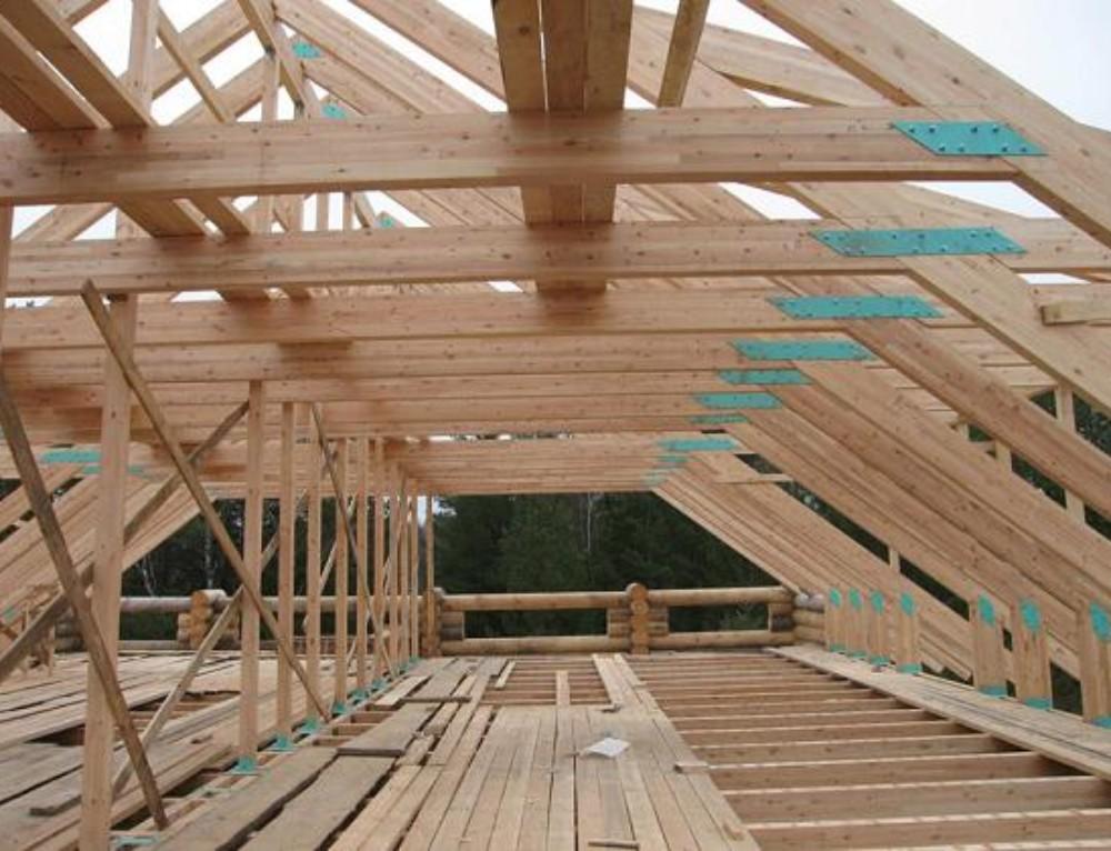 Как построить крышу