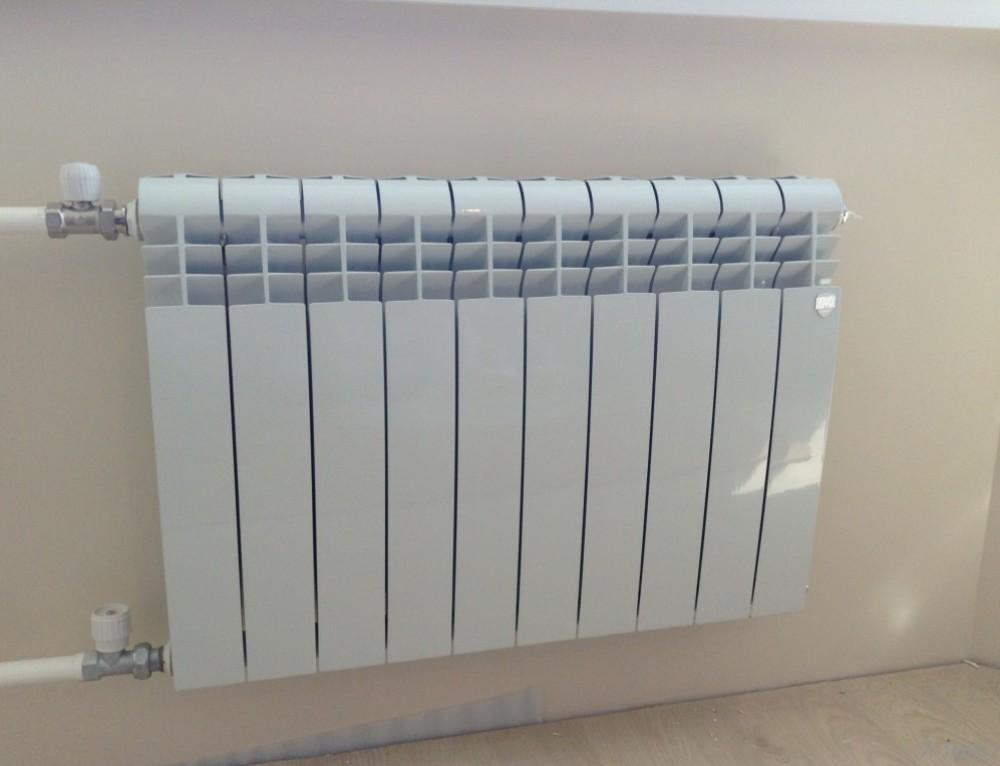 Как заменить радиатор отопления