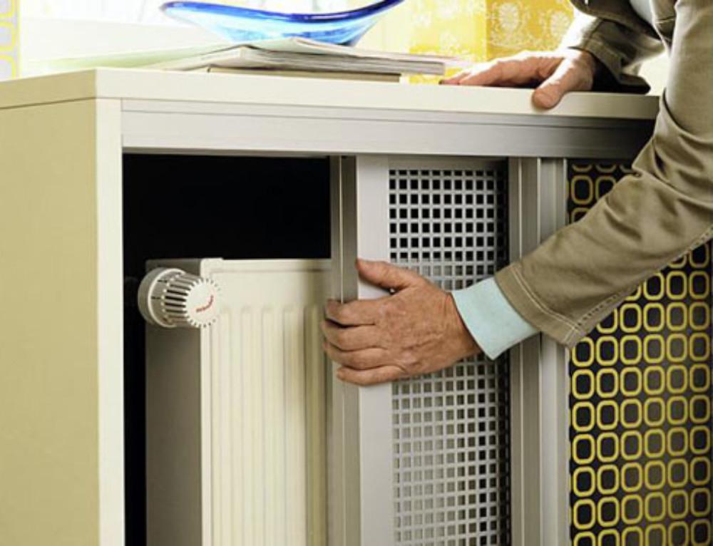 Короб для радиатора отопления своими руками