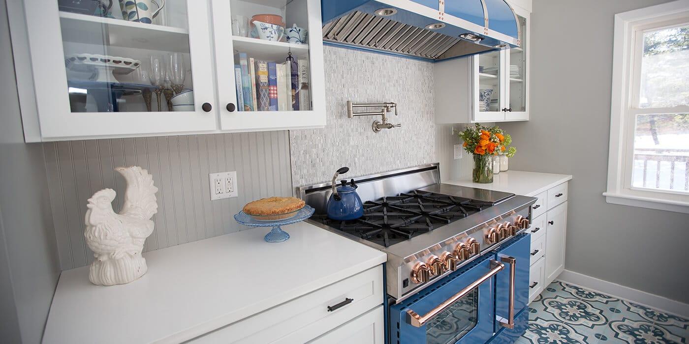 Газовые плиты в интерьере кухни Фото