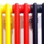 Покраска батарей парового отопления