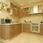 Согласно выстроенному плану делаем предварительный эскиз кухни