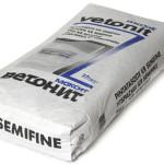 Шпаклевка Ветонит отлично наносится на покрытия из цемента