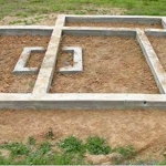 Баня на ленточном фундаменте
