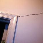 Трещины на стенах – как с ними бороться?