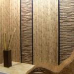 Правила наклейки бамбуковых обоев