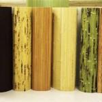 Как наклеивать бамбуковые обои