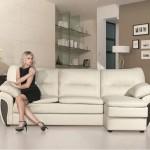 Наиболее престижной считается мебель из кожи