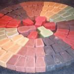 Цветные цементы