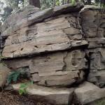 Готовая скала из искусственного камня