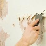 Удаление прежнего покрытия стен