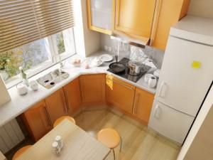 Косметический ремонт кухни своими рукам