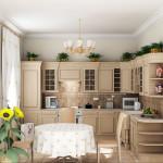 Планировка будущей кухни