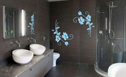 Украшаем стены в ванной