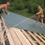 Как сделать крышу самостоятельно