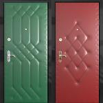 Обшивка металлических дверей своими руками