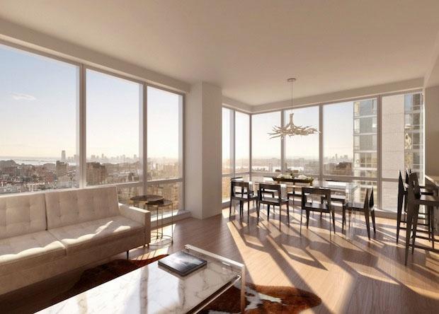 Установка панорамных окон в квартире