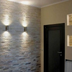 Стеновые панели для отделки стен в коридоре