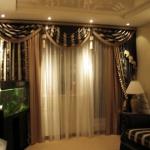 Комбинируйте шторы с мебелью