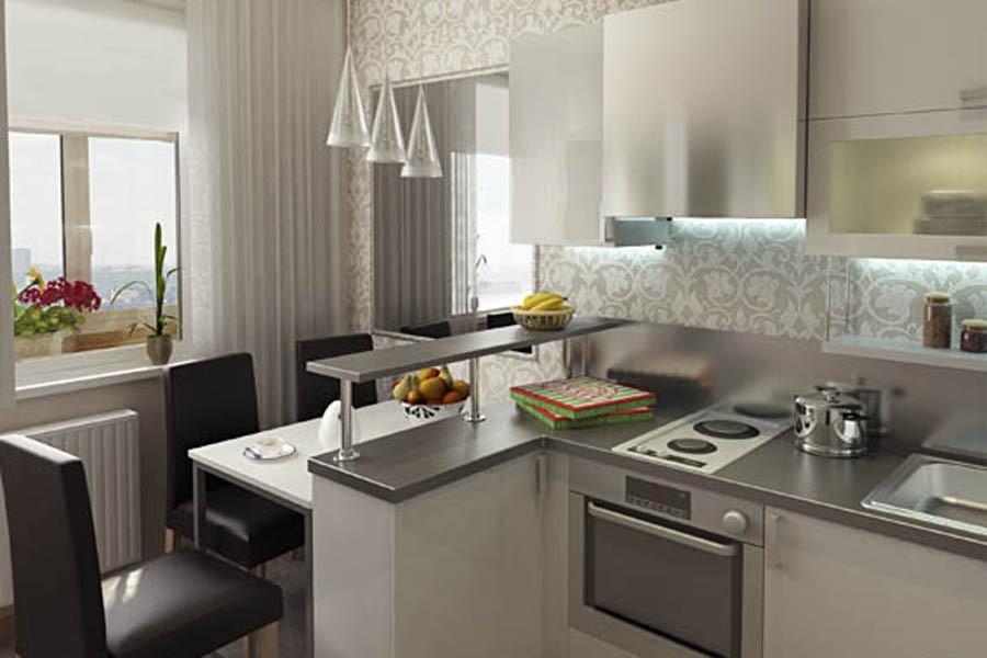 Кухня из кирпича своими руками в квартире фото 943