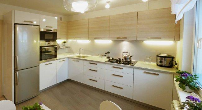 Кухня 12 м интерьер 167