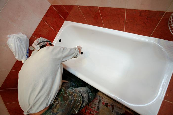 Реставрация ванны своими руками фото