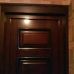 Подготовка двери изнутри