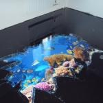 Как самостоятельно сделать наливные полы с использованием 3D- технологий