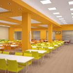 Дизайн проект школьной столовой
