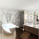 Фотостекло в ванной