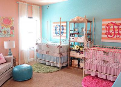 Детская комната для двойняшек