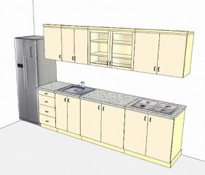 Продумайте планировку кухни