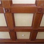 Как создаются кессонные потолки?