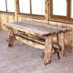 Самодельная мебель для беседки