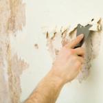 Снятие водоэмульсионной или масляной краски