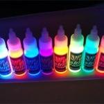 Разновидности красок светящегося типа и особенности их применения