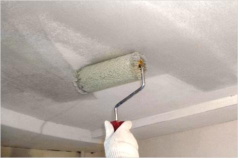 Подготовка потолка под покраску своими руками фото 27