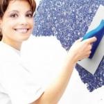 Технология отделки стенового покрытия