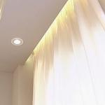 Виды потолочных ниш