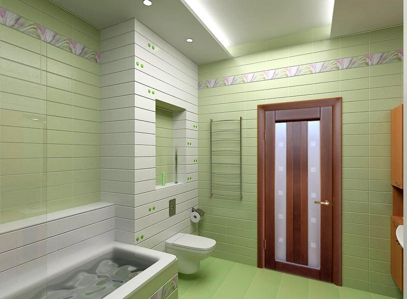 Как выбрать дверь в ванную?