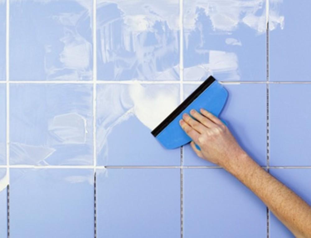 Как очистить плитку от затирки