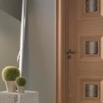 Преимущества и недостатки дверей с экошпоном