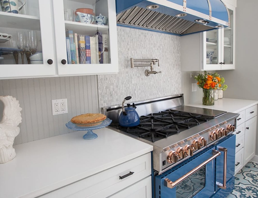 Газовые плиты в интерьере кухни